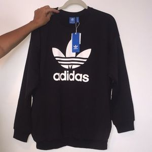 New Adidas Trifold Crew neck